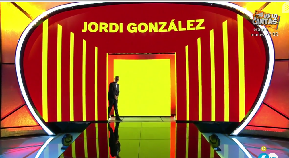 JORDI GONZALEZ ENTRA MAD IN SPAIN